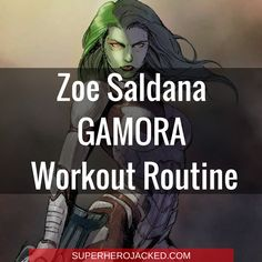 Zoe Saldana Workout Routine and Diet: The SuperHuman behind Gamora, Avatar and Colombiana