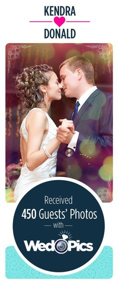 WedPics - The #1 Photo & Video App For Weddings! Your Guests. Their Photos. One FREE App. It's THAT simple!