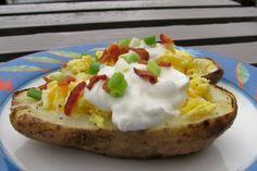 Breakfast Potato Skins