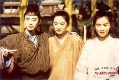 王祖贤 Joey Wong, Brigitte Lin & Carina Lau 图片. Hong Kong & Taiwanese actresses from the 1980's-90's.