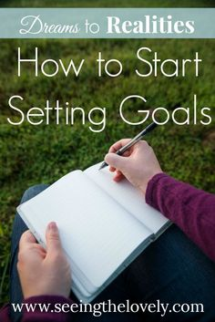 How to start setting goals