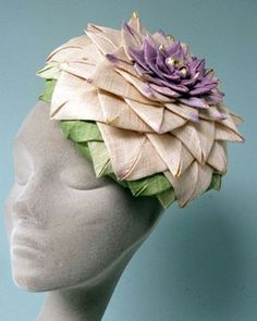 jane taylor large petal toque #millinery #judithm #hats