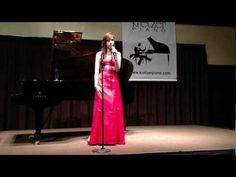 Nicole Kelly performs at Kretzer Piano's 2013 Music for the Mind concert featuring the Kretzer Kids.