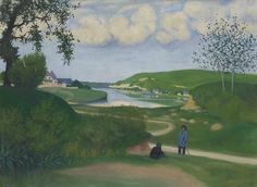 lawrenceleemagnuson: Félix Vallotton (Swiss 1865-1925)Paysage...