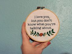 Wes Anderson Embroidery. Moonrise Kingdom gift. by LadyMadeDesigns