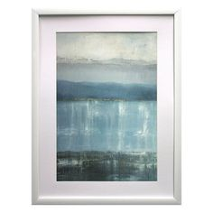 Twilight Blues Framed Wall Art, Blue