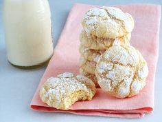 Deliciousness! Melt-in-your-mouth Gooey Butter Cookies at their finest and from scratch. What could be better? Our recipe was reverse engineered from standard recipes calling for boxed yellow cake mix. The result is simply a sublime buttery, light and tender-crumbed cookie sweetened just right and full of flavor including an enchanting tang from cream cheese. You …