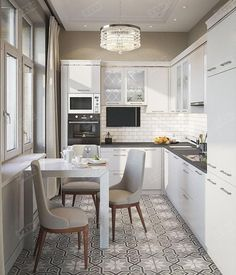 Beautiful with kitchen
