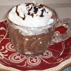 Ultimate Chocolate Dessert Allrecipes.com - Great pot de creme' - perfect for Valentine's Day.