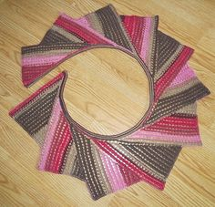 Ravelry: Free Tunisian Wingspan pattern by Amy Depew - there are over 80 projects made from this pattern for you to look at.