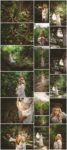 ©Heather Brantingham | The Spotted Owl Photography  Enchanted Woodland Maternity Session
