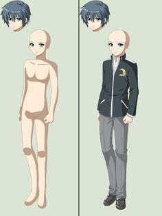 Corpse Party Dead Patient-male Base by TFAfangirl14.deviantart.com on @deviantART