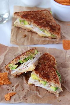 Turkey, Avocado, Havarti Grilled Cheese on www.cookingwithru... is a cheesy, delicious sandwich