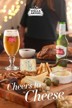 When it comes to holiday feasts, one way to instantly elevate your meal is to pair Stella Artois with a gourmet cheese plate with artesanal spreads. Add in some homemade bread and you'll discover plenty of combinations that will impress your guests - from cocktail hour with Stella Artois to the main event.
