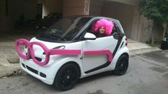 . Smart Car Body Kits, Weird Cars, Crazy Cars, Smart Humor, New Car Accessories, Mens Golf Outfit, Car Camper, Smart Fortwo, Car Colors