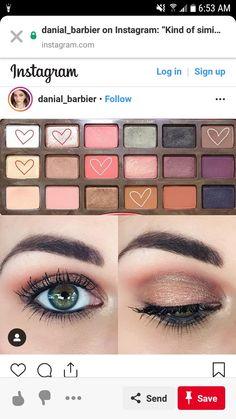 Makeup Eyeshadow Palette, Peach Eyeshadow, Eyeshadow Looks, Skin Makeup, Peach Makeup Look, Neutral Makeup, Makeup For Green Eyes, Eye Makeup Steps, Makeup Tips