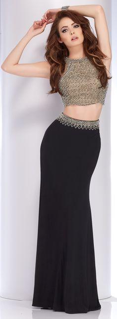 Clarisse Two Piece Prom Dress 2766