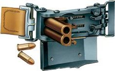 Двуствольная «Пряжка» Л. Маркуса готова к выстрелу. Оба ствола выполнены под пистолетный патрон типа 7,65х17, но нарезов не…