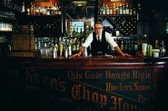 Pub Bar by Keens Steakhouse, via Flickr
