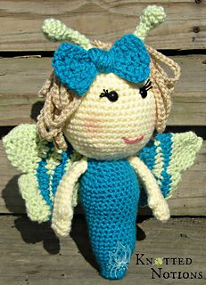 Bailey the Butterfly ~ free pattern ᛡ