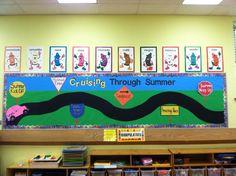 "Bulletin board ideas road signs | Summer bulletin board Change to ""Learning to Follow Jesus"" Road signs ..."