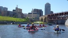 Above the Falls Sports Deal: Buy Three Get One Free: Kayak the Mississippi River with four people for the price of three.