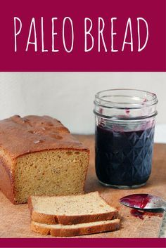Paleo Bread is an easy gluten-free bread recipe with just 9 ingredients --toss ingredients into a food processor, dump in a pan, and bake. No separating eggs, or water baths. Paleo bread is delicious for sandwiches, or toasted with a side of eggs. We keep this bread on hand at all times cause it's so darn good. After you bake it, cool overnight, then wrap in a paper towel and plastic bag. It will keep for a week when stored this way.