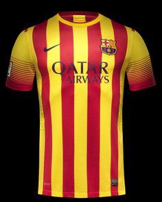 Barcelona FC 2013-14 Away & Home Team Kit by Nike