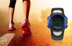 Fitness+3D+Sport+Exercise+Watch+Pulse+Heart+Rate+Monitor+And+Pedometer+Calories+Counter