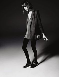 First Look | Valery Kaufman by Hedi Slimane for Saint Laurent Fall 2014 Campaign