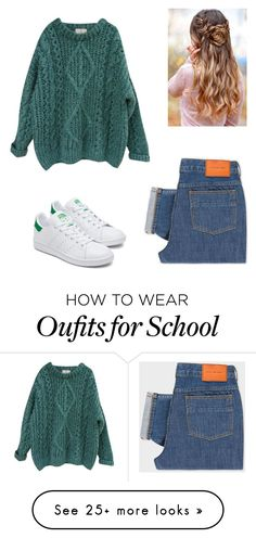 """Outfits for School"" by nmkennedy on Polyvore featuring PS Paul Smith and Essentiel"