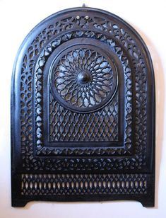 iron fireplace cover. This is a magnificent antique cast iron arched fireplace cover  dating from the early ANTIQUE LATE 1800 S CAST IRON ORNATE FIREPLACE COVER dining room