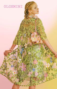 Beautiful Freeform Crochet by Olga Krivenko http://kryukist.ru