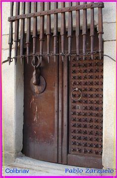 Avila, Spain-door of old castle