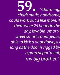 "Matthew Gray Gubler profiling Shemar Moore. Criminal Minds. ""My big brother"" awwww!"