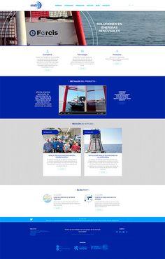 Diseño web para Smalletec, desarrolladores de generadores para boyas oceanográficas  Desarrollo web para esta empresa de soluciones en energías renovables  http://www.smalletec.com/
