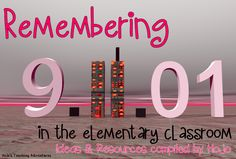 Needs some ideas for teaching about September 11th? This blog post has ideas for books to read, activities to do, and a video to watch! 3rd Grade Social Studies, Social Studies Resources, Teaching Social Studies, Remembering September 11th, Study History, 6th Grade Reading, Teaching History, Social Science, Classroom Activities