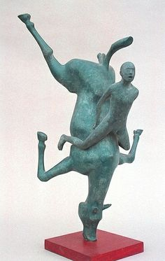 Equestrian Sculpture - falling | Flickr - Photo Sharing!