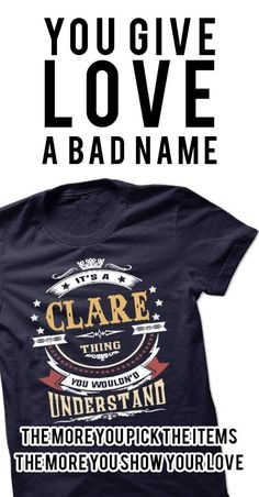 CLARE .Its a CLARE Thing You Wouldnt Understand - T Shirt, Hoodie, Hoodies, Year,Name, Birthday