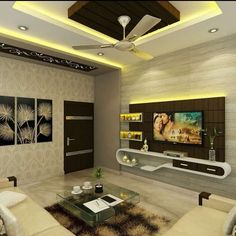 Bedroom TV unit design by Kumar interior ongoing interior project at Acme Ozone Ghodbundar Road Thane unit design Modern Kumar Interior Bedroom Tv Unit Design, Tv Unit Interior Design, Tv Unit Furniture Design, Living Room Partition Design, Living Room Tv Unit Designs, Ceiling Design Living Room, Bedroom False Ceiling Design, Modern Home Interior Design, Tv In Bedroom