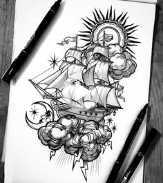 Esme Baker Tattoo on Pencil Art Drawings, Cool Art Drawings, Art Drawings Sketches, Tattoo Sketches, Tattoo Drawings, Drawing Ideas, Amazing Drawings, Animal Drawings, Body Art Tattoos