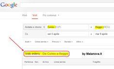 #Googleflightsearch #fail: da #cuneo a #reggiocalabria con volo estero