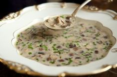 champignon knoflook soep