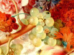 Still Life, Detail. by Jan van Huysum