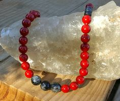 Make a Statement Tourmalated Faceted Quartz and by ermjewelers