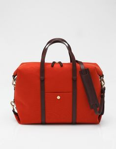 Utility Bag In Red