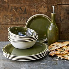I'm kinda lusting over these ==> Jars Cantine 16-Piece Dinnerware Place Setting #williamssonoma