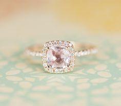 Peach-ish Sapphire love love love love!!!!!!!! My dream ring!!!!!!!!