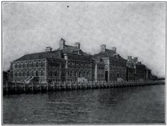 The Immigrant Hospital at Ellis Island New York Harbor, Ellis Island, A Moment In Time, Lower East Side, Do Not Fear, Interesting History, The Visitors, Historical Pictures, Abandoned Buildings