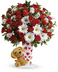 Send a Hug I Ruff You by Teleflora Flowers